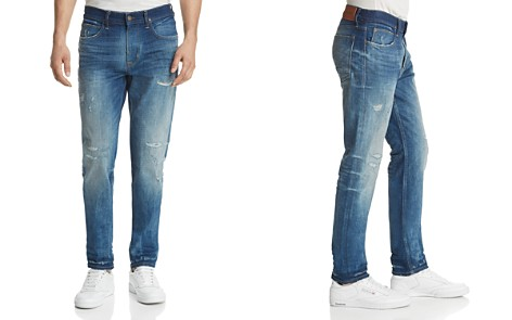 Hudson Axl Skinny Fit Jeans in Ride Out - Bloomingdale's_2