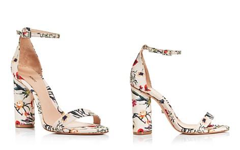 SCHUTZ Women's Jeannine Suede Block Heel Sandals - Bloomingdale's_2