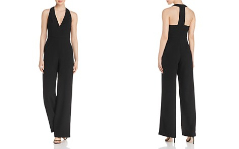 Black Halo Jordan Wide-Leg Jumpsuit - Bloomingdale's_2