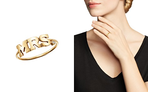 Zoë Chicco 14K Yellow Gold Mrs. Diamond Ring - Bloomingdale's_2