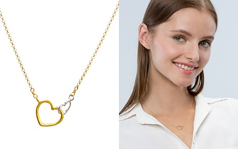 "Dogeared Linked Heart Necklace, 16"" - Bloomingdale's_2"