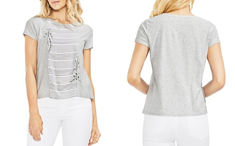 VINCE CAMUTO Mixed Media Tee - Bloomingdale's_2
