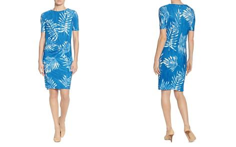CATHERINE Catherine Malandrino Dina Palm-Print Twist Dress - Bloomingdale's_2
