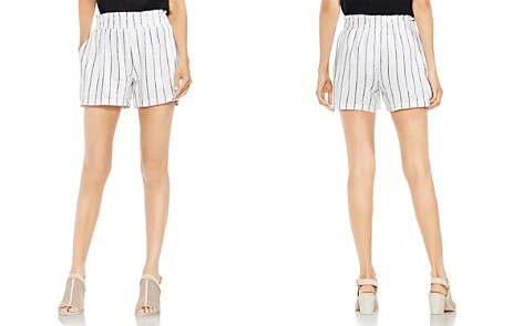 VINCE CAMUTO Smocked Pinstripe Pull-On Shorts - Bloomingdale's_2