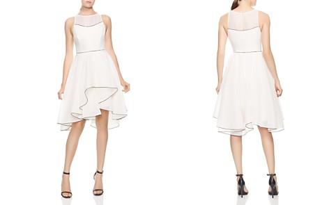 HALSTON HERITAGE Ruffled Skirt Organza Dress - Bloomingdale's_2