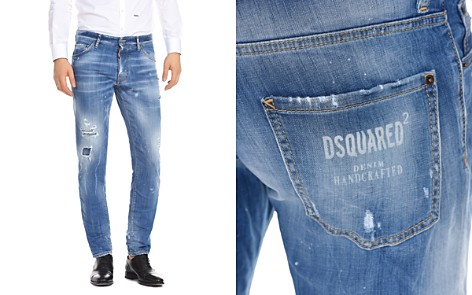 DSQUARED2 Slim Fit Jeans in Faded Blue - Bloomingdale's_2