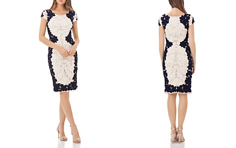 JS Collections Soutache Lace Cocktail Dress - Bloomingdale's_2