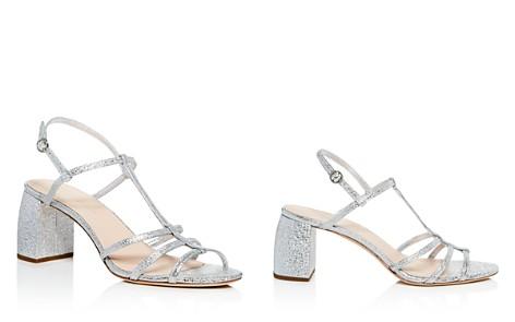 Loeffler Randall Women's Elena Leather T Strap Block Heel Sandals - Bloomingdale's_2