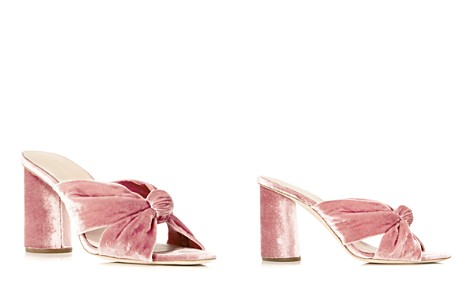 Loeffler Randall Coco Velvet High-Heel Slide Sandals - Bloomingdale's_2