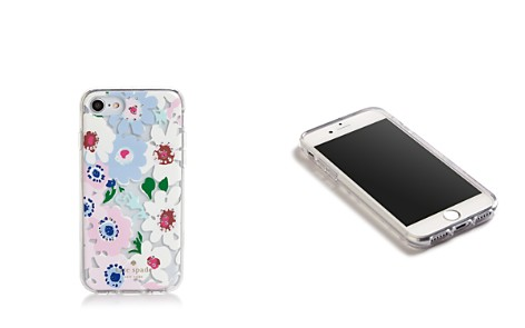 kate spade new york Jeweled Daisy Garden Clear iPhone 7/8 Case - Bloomingdale's_2