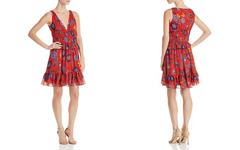 Rebecca Minkoff Lucille Flounced Floral-Print Dress - Bloomingdale's_2