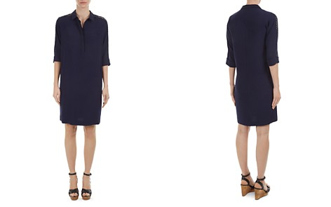 Gerard Darel Diva Lace-Trimmed Shirt Dress - Bloomingdale's_2