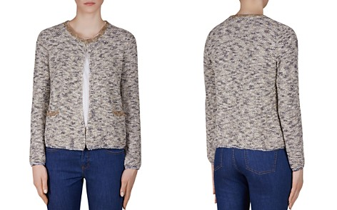 Gerard Darel Fiction Bouclé Cardigan - Bloomingdale's_2