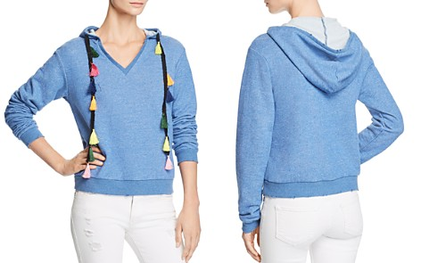 Honey Punch Tassel Hooded Sweatshirt - Bloomingdale's_2