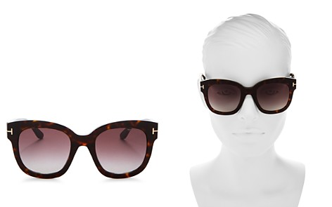 Tom Ford Women's Beatrix Square Sunglasses, 58mm - Bloomingdale's_2