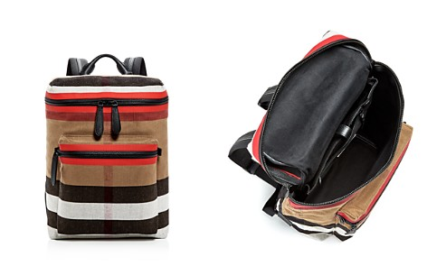 Burberry Donny Canvas Check Backpack - Bloomingdale's_2