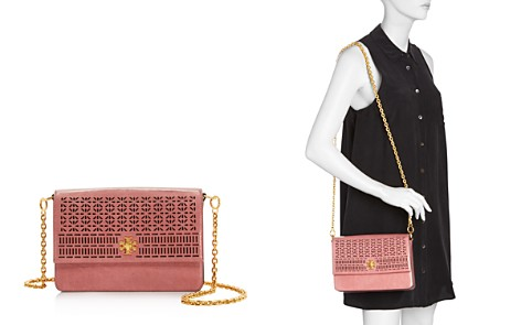 Tory Burch Kira Perforated Leather Shoulder Bag - Bloomingdale's_2