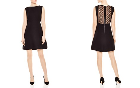 Sandro Tolina Lace-Back Dress - Bloomingdale's_2