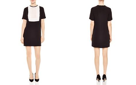 Sandro Histoire Lace-Bib Dress - Bloomingdale's_2