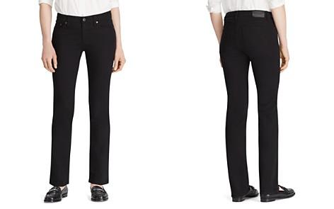 Lauren Ralph Lauren Modern Curvy Straight-Leg Jeans in Black - Bloomingdale's_2