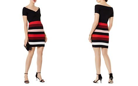 KAREN MILLEN Striped Body-Con Dress - Bloomingdale's_2