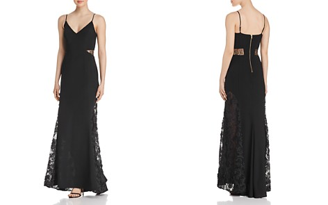 Avery G Lace-Inset Gown - Bloomingdale's_2