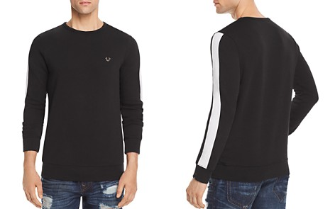 True Religion Contrast Stripe Crewneck Sweatshirt - Bloomingdale's_2