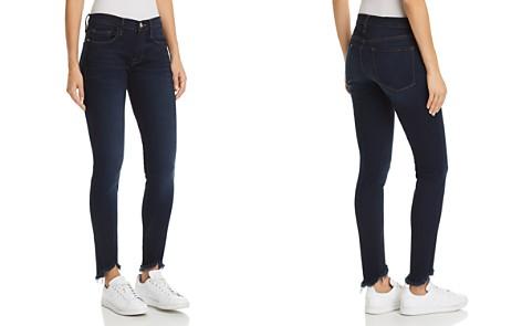 FRAME Le Skinny De Jeanne Sweetheart Frayed-Hem Jeans in Longstreet - Bloomingdale's_2