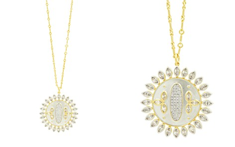 "Freida Rothman Fleur Bloom Disc Pendant Necklace, 20"" - Bloomingdale's_2"