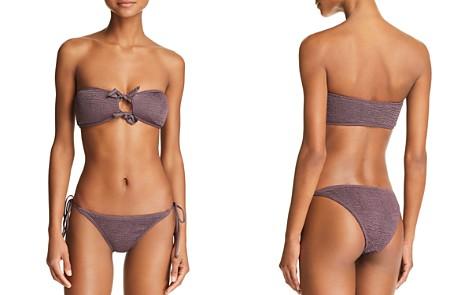 L*Space Kristen Bandeau Bikini Top & Lily Tie Side Bikini Bottom - Bloomingdale's_2
