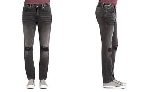 Mavi Jake Brooklyn Slim Fit Jeans in Mid Gray - Bloomingdale's_2
