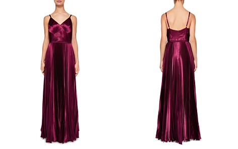 Ted Baker Efrona Pleated Satin Gown - Bloomingdale's_2