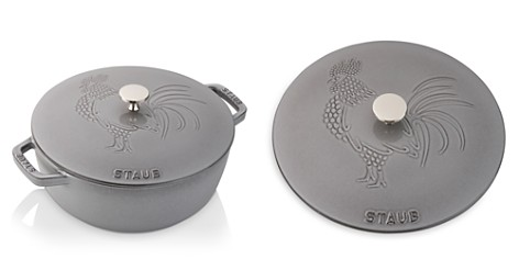 Staub Cast Iron 3.75-Quart Essential French Oven with Rooster Lid - Bloomingdale's Registry_2