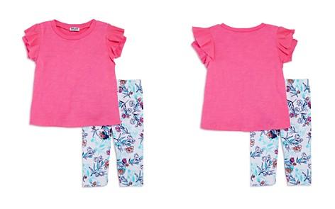 Splendid Girls' Ruffled Top & Floral-Print Leggings Set - Little Kid - Bloomingdale's_2