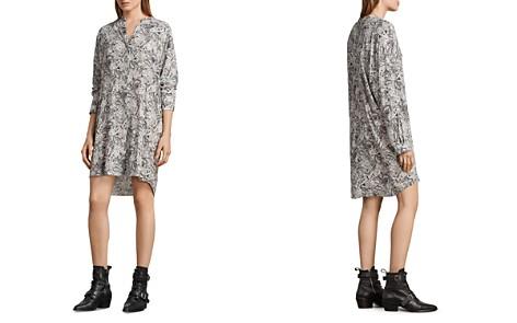 ALLSAINTS Cayla Paisley Print Shirt Dress - Bloomingdale's_2