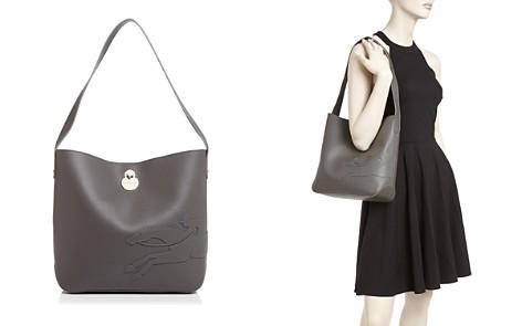 Longchamp Shop It Medium Leather Hobo - Bloomingdale's_2
