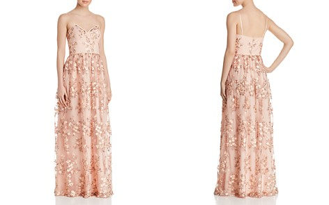 Aidan by Aidan Mattox Floral Embroidered Gown - Bloomingdale's_2