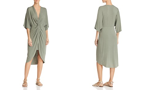 Joie Sorina Draped Midi Dress - Bloomingdale's_2
