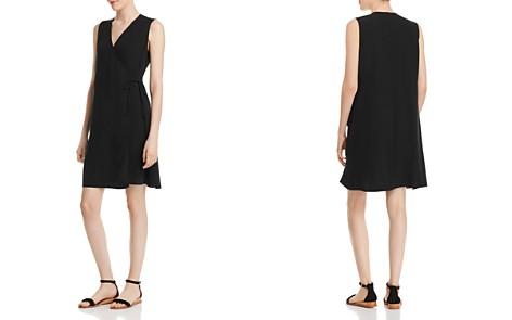 Eileen Fisher Silk Wrap Dress - Bloomingdale's_2