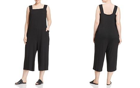Eileen Fisher Plus Slouchy Cropped Jumpsuit - Bloomingdale's_2