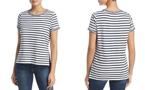 Marc New York Performance Striped High-Low Tee - Bloomingdale's_2