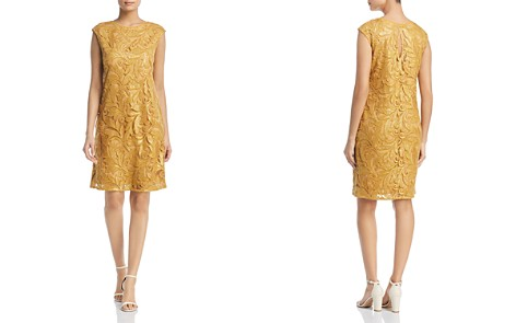 NIC+ZOE Sequined Lace Shift Dress - Bloomingdale's_2