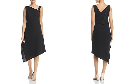 NIC+ZOE Asymmetric Crepe Dress - Bloomingdale's_2