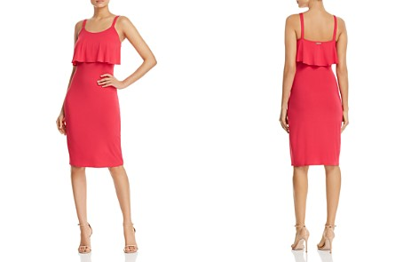 MICHAEL Michael Kors Ruffle Overlay Dress - Bloomingdale's_2