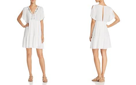 En Créme Embroidered Swing Dress - 100% Exclusive - Bloomingdale's_2