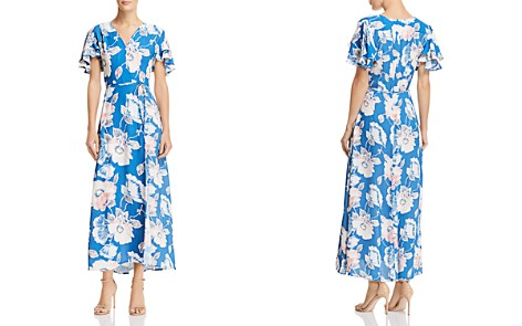 FRENCH CONNECTION Cari Crepe Floral-Print Maxi Dress - Bloomingdale's_2