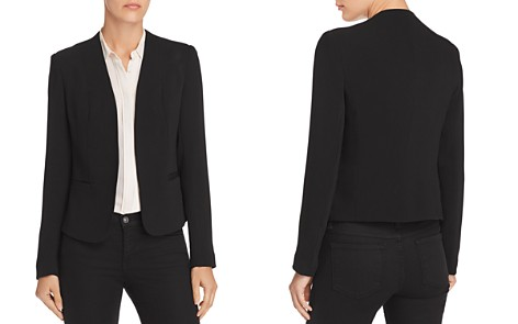 AQUA Open-Front Blazer - 100% Exclusive - Bloomingdale's_2