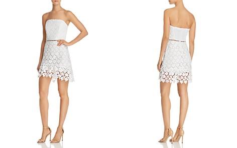 Karina Grimaldi Mona Strapless Lace Dress - Bloomingdale's_2