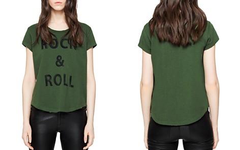 Zadig & Voltaire Seattle Bis Short-Sleeve Sweatshirt - Bloomingdale's_2