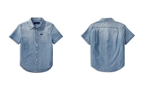 Polo Ralph Lauren Boys' Short-Sleeve Chambray Shirt - Little Kid - Bloomingdale's_2
